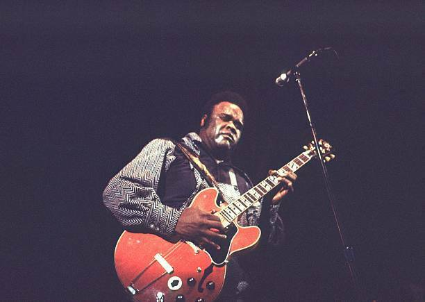OLD MUSIC PHOTO Blues Guitarist Freddie King Performs In Copenhagen In 1971