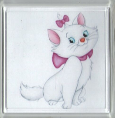 Can be personalised Aristocats Marie Coaster
