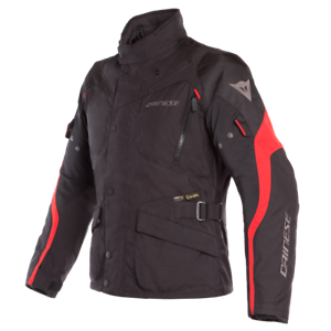 DAINESE-TEMPEST-2-D-DRY-BLACK-RED-MOTORCYCLE-JACKET-EU-50-52-54-56-58