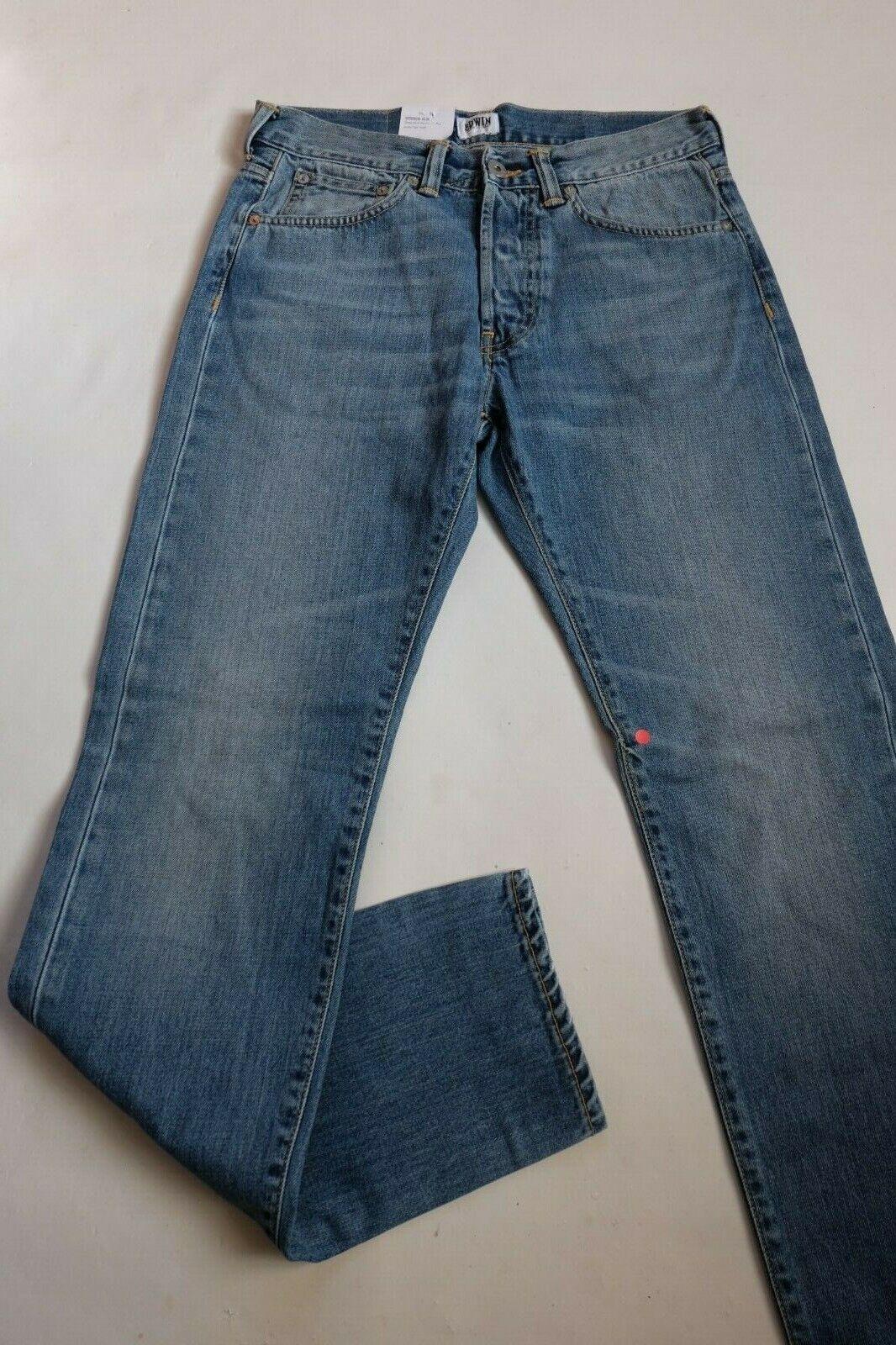 Jeans Edwin Ed 80 Slim Tapered (Deep bluee Dusky Light Wash) W30