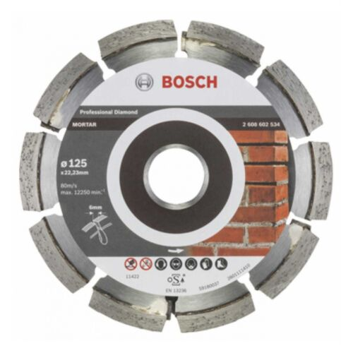 125 x 6 x 7 x 22,23 mm Bosch Fugenfräser Expert for Mortar