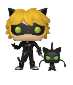 Pop  Animation Miraculous Series 1 Cat black with Plagg Figure Funko