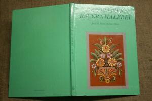 Fachbuch-Bauernmalerei-Moebelmalerei-Bauernmoebel-Bauernstuben-Holzmalerei-DDR