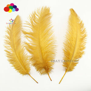 wholesale-50-pcs-High-Gold-selection-ostrich-feathers-10-12-inch-wedding-part