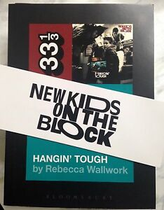 New-Kids-on-the-Block-039-s-Hangin-039-Tough-book-Signed-by-author-with-Bonus-Bookmark