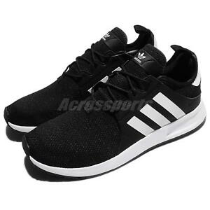 03fc277b788306 adidas Originals X PLR Black White Men Running Shoes Sneakers ...
