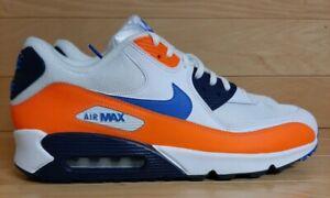 air max 90 azules y naranjas
