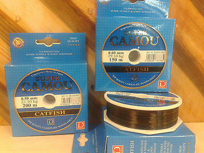 10.50kg bream Fishing Line Super Camou Carp 300m barbel river lake 0.32mm