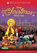 Mormon Tabernacle Choir and Orchestra at Temple Square: Keep Christmas with You (DVD, 2015)