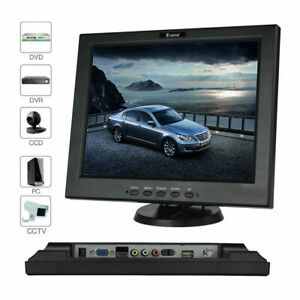 9.7 inch 4:3 TFT Color HD LCD CCTV Surveillance Monitor w// BNC VGA HDMI AV input