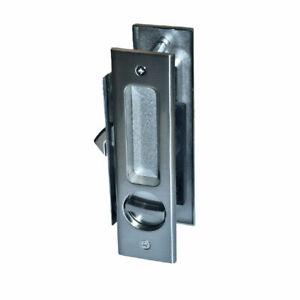 Pleasing Details About Supreme Bathroom Privacy Sliding Pocket Door Lock Set With Thumb Turn Snib Slot Download Free Architecture Designs Embacsunscenecom