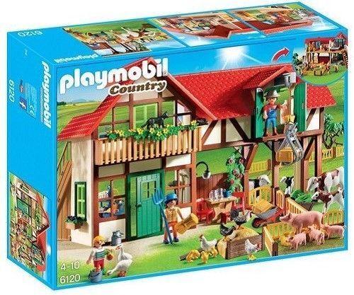 PLAYMOBIL COUNTRY 6120 NUOVA FATTORIA CON ANIMALI