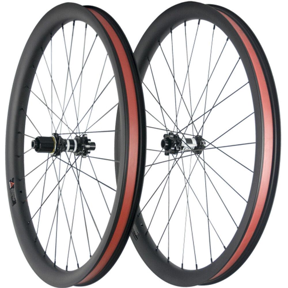 27.5ER MTB Carbon Wheels Hub DT350s 40mm Width Mountain Carbon Bicycle Wheelset
