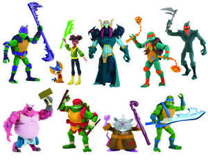 The Rise of the Teenage Mutant Ninja Turtles Basic Action Figures-Splinter Neuf