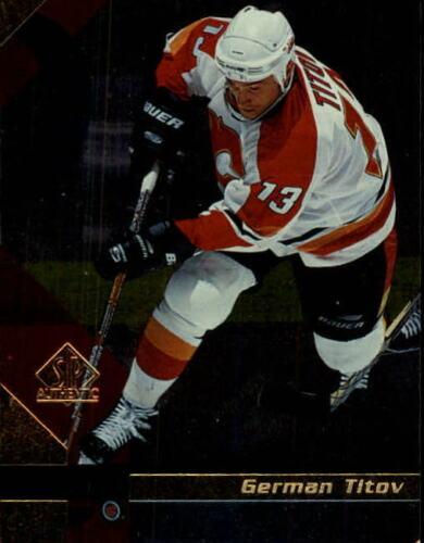 1997-98 Sp Authentisch Hockey Karten Zur Auswahl Liste