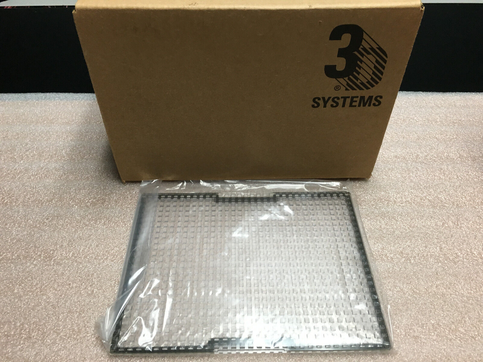 3D Systems/V-Flash BUILD PADS - NEW CASE OF 20 sealed build pads. ONE BOX