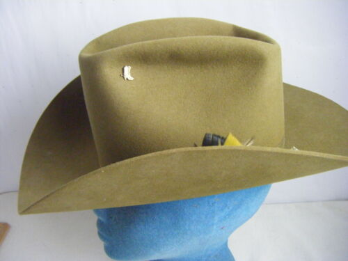 BIG R Vintage Olive Green Wool Felt Cowboy Ranch H