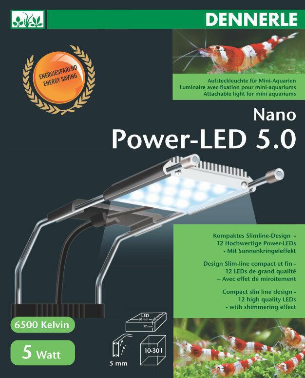 Dennerle Nano Nano Nano Power LED 5.0 illuminazione acquari f64c9a