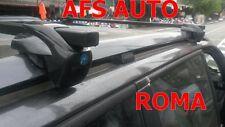 BARRE PORTATUTTO ALLUMINIO FIAT STILO ANNO 2001 CON RAILS CHIAVE ANTIFURTO NERE