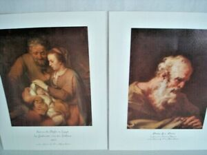Dr-Alfred-Bader-Collection-Lot-of-2-Art-Prints-11x14-in-Pellegrini-amp-Eeckhout