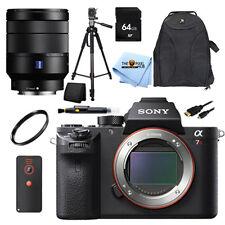 Sony Alpha a7R II Digital Camera W/ Vario-Tessar T* FE 24-70mm! BASIC BUNDLE NEW