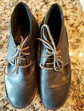 Oliberte Men's Abido Chukka Boot Dark Grey Nubuck Size 43 EU 10 US  A18