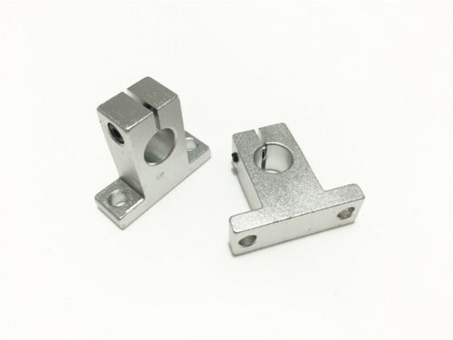 2pcs SK12 12mm Aluminum Linear Rail Shaft Guide Support Bearing SH12A CNC Parts