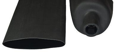 "negro pie 1 5//16/"" Qty:5 DW1S3X-7.9 Doble Pared 3:1 Calor Shrink Tubo 7.9 mm"