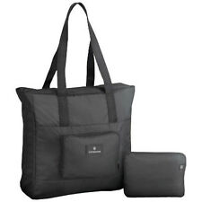 Victorinox Packable Tote Bag Travel Packing Accessory - Black