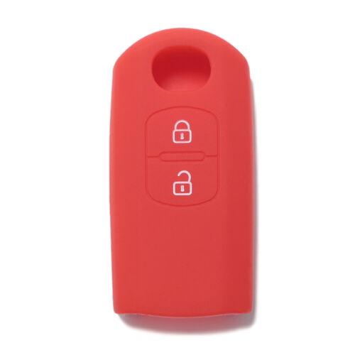 Guscio in Silicone Cover Chiave per Telecomando Mazda M3 M5 MZ2 MX5 Portachiave