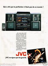 Publicité Advertising 1987 La Chaine Hi-fi JVC