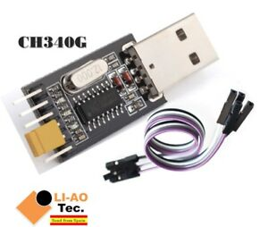 USB 2.0 CH340G UART TTL Konverter Adapter für Arduino 5V 3.3V