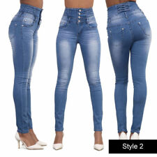 9206e49a6b0 item 6 NEW WOMENS SUPER HIGH WAISTED JEANS RIPPED SKINNY JEGGINGS LADIES  CORSET 6-20 -NEW WOMENS SUPER HIGH WAISTED JEANS RIPPED SKINNY JEGGINGS  LADIES ...