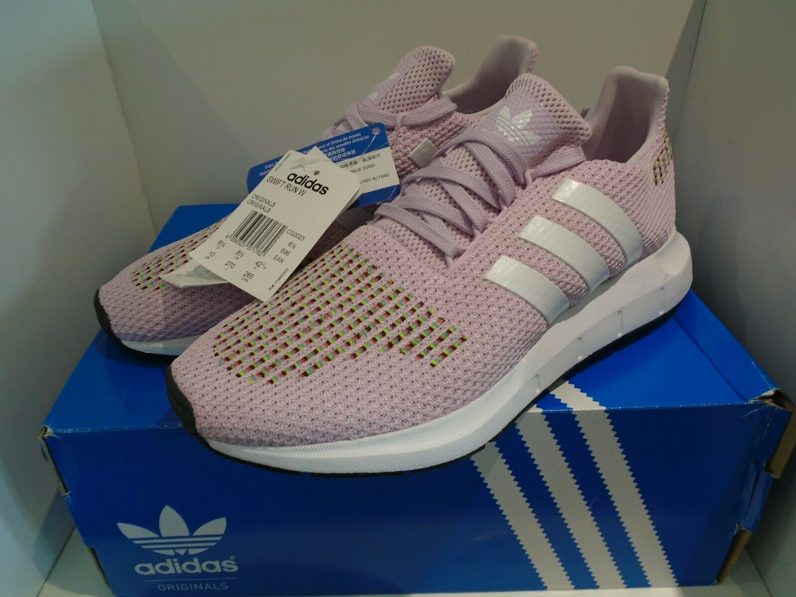 8c78c0fcf2f0a BNIB Womens adidas Originals Swift Run Trainers In Aero Pink 8.5 UK  oyjwra2362-Women s Trainers