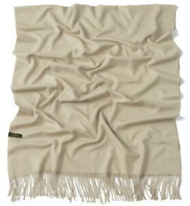 Solid Color Design Shawl Seconds Scarf Wrap Stole Throw