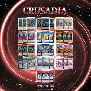 CRUSADIA-DECK-CORE-MP19-MAGIUS-EQUIMAX-MAXIMUS-RECLUSIA-ARBORIA-DRACO-YuGiOh