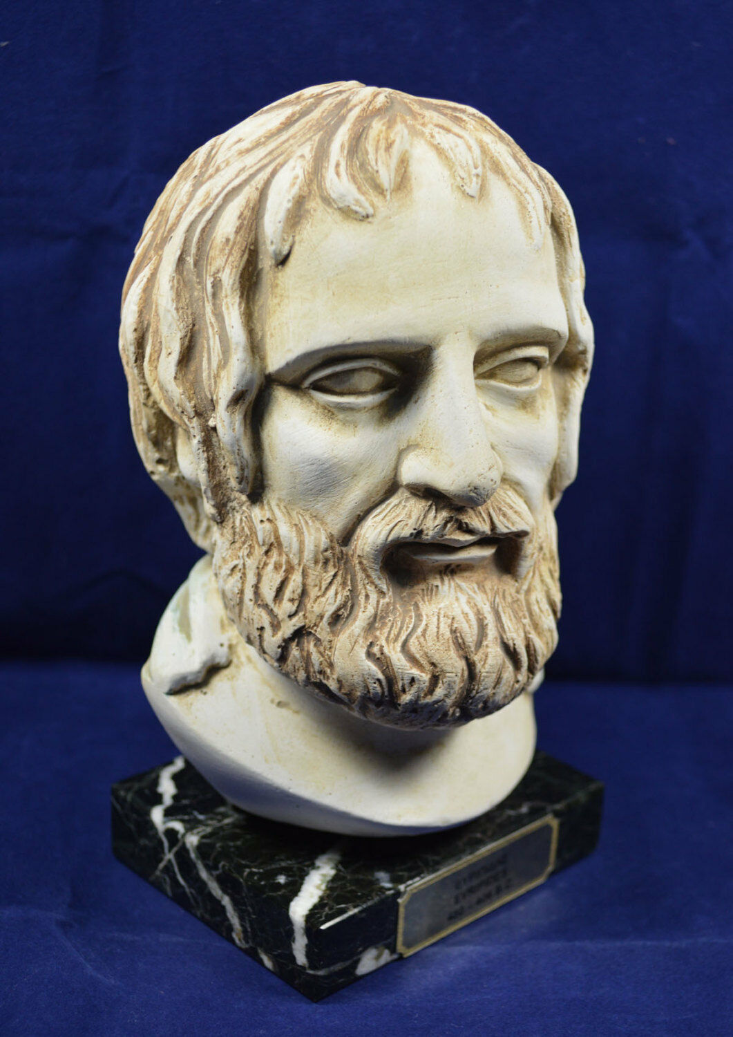 Euripides sculpture tragedian of classical Athens bust Tragedy