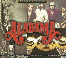 ALABAMA - MY HOME'S IN ALABAMA/FEELS SO RIGHT/MOUNTAIN MUSIC [DIGIPAK] NEW CD