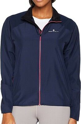 Ronhill Women/'s Everyday Running Jacket Purple With Water Resistant Finish