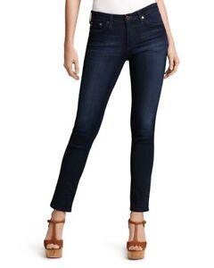 AG-Adriana-Goldschmied-Women-Size-27R-The-Prima-Mid-Rise-Skinny-Jeans-Denim-3502
