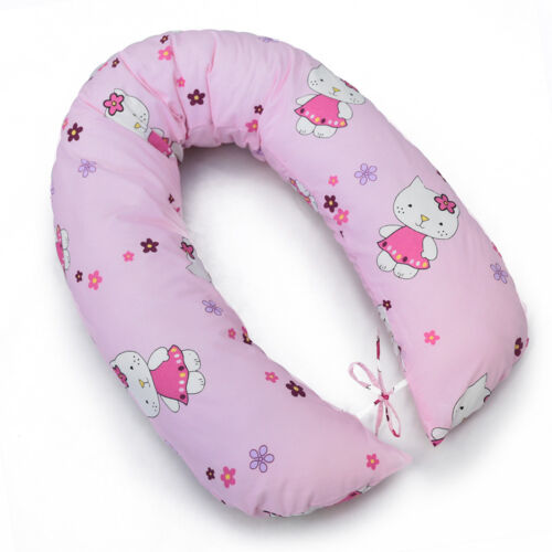 Almohada De Lactancia Grande Bebé Lactancia Maternidad Embarazo cubierta de algodón 170CM