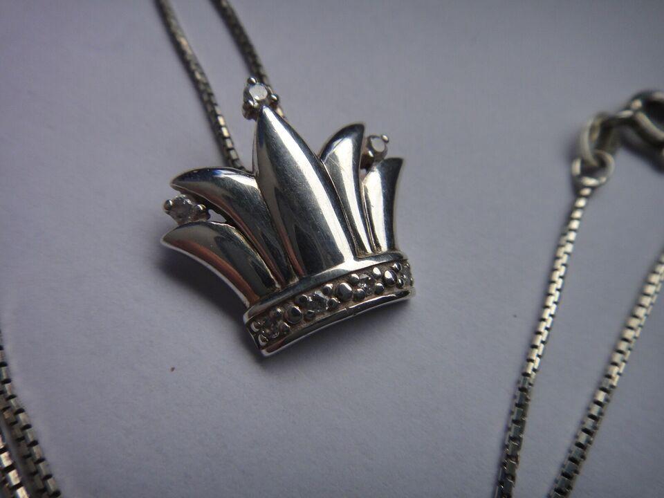 Halskæde, sølv, HEJL 925 sølv