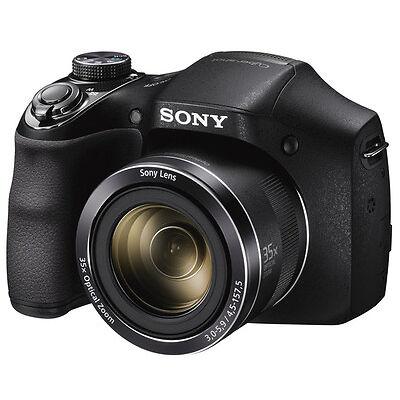 SONY Cyber-shot DSCH300B Bridge Camera  20.1 megapixel HD video Black  New