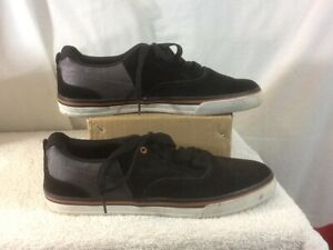 BLACK AIRSPEED MENS CAMO SKATE SHOES SIZE 7
