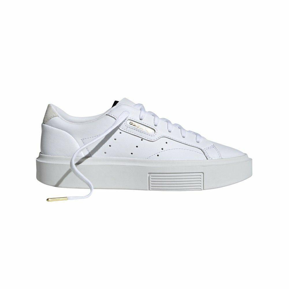 Schuhe Sleek adidas Damänner Weiß W Super 97282kvkv51153