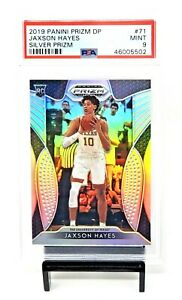 2019-Prizm-SILVER-REFRACTOR-Pelicans-JAXSON-HAYES-Rookie-Basketball-Card-PSA-9