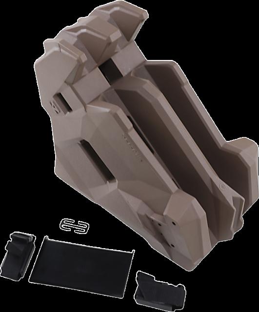 Seizmik 7500 ICOS 2 AR In Cab On Seat Gun Holder UTV Rifle Shotgun Mount Carrier