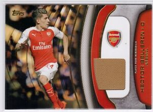 new style 03280 40505 Details about 2015 Topps Premier Gold Hector Bellerin Jersey Relic Arsenal