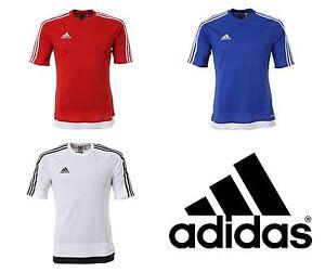NWT Adidas Men Estro 15 Climalite Top Soccer Futball Fitness Jersey ... 4029e7bb3cf21