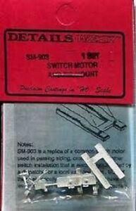 Details West # 903 Switch Motor /& Tie Mount HO Scale MIB